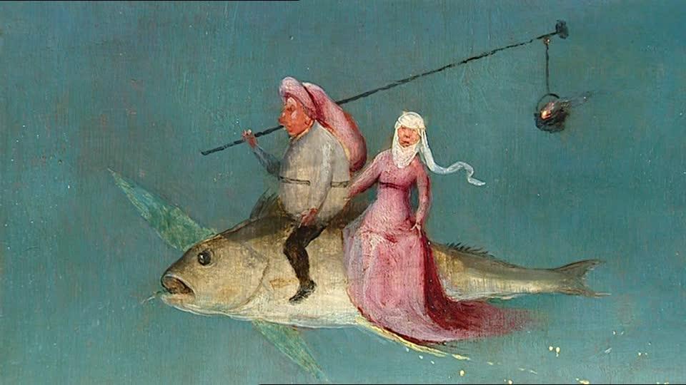 pesci che volano Bosh autore